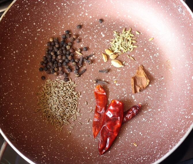 spices for making mutton sukka