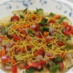 Masala Paapad Recipe, How to make masala papad