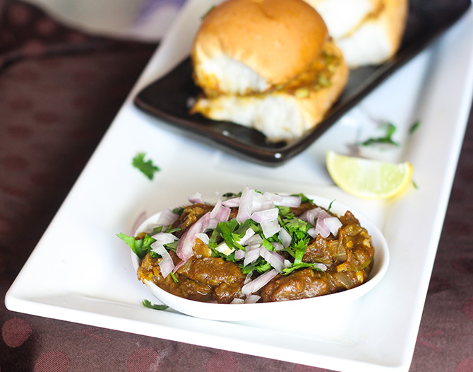Pav Bhaji Masala is an easy to make recipe in a street style. This is a very famous street food that is available in each and every corner of India.