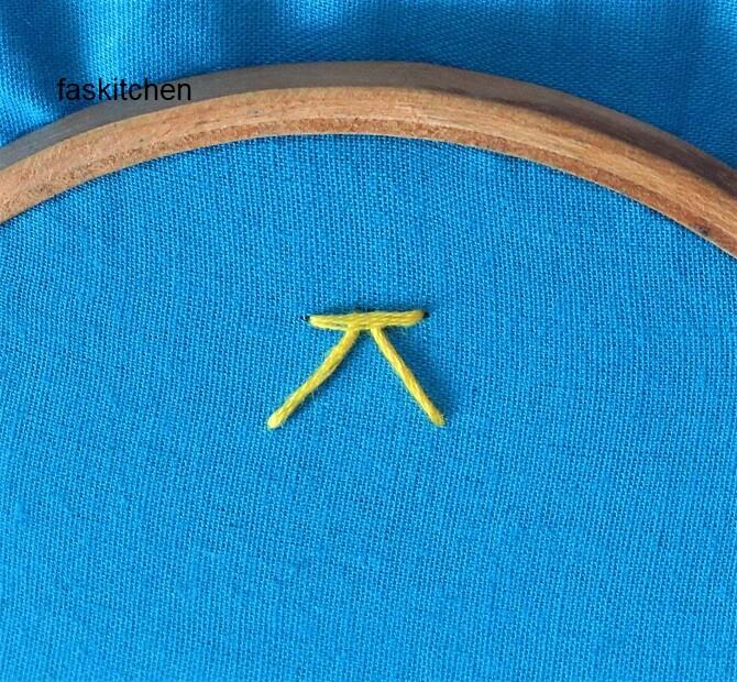 detached chevron stitch