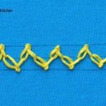 feathered chain stitch
