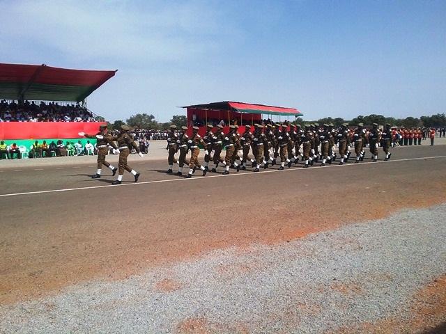 Défilé de l'Ecole Nationale des Sous Officier