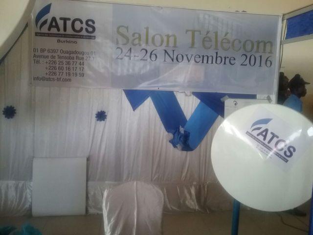 Les différents salons ont animé et exposé leurs différents produits sur les Télécommunications. Stand ATCS