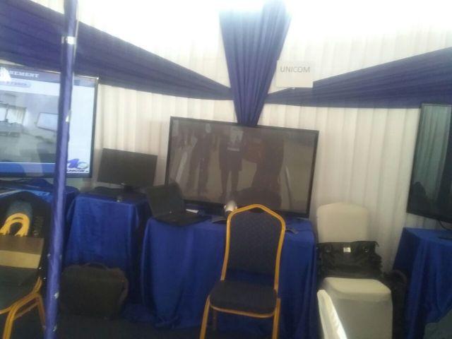 Les différents salons ont animés et exposés leurs différents produits sur les Télécoms et le Business. stand UNICOM-SA