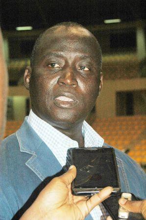 Le président de la FEBBA, Joachim Baki