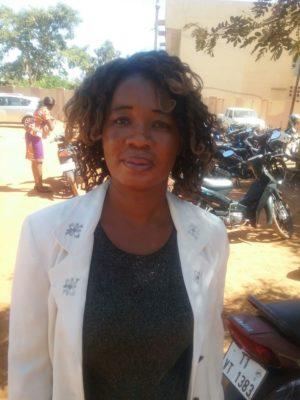 COULIBALY/OUATTARA Mariam, présidente de l'Association YIRIWA femmes leaders