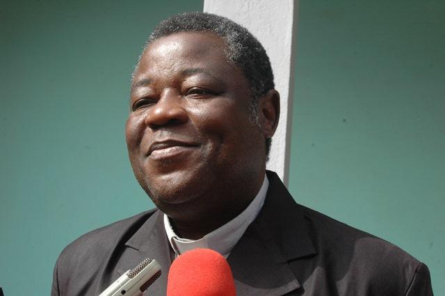 Père Edgard F. Yaméogo, directeur du camillianum Burkina Faso