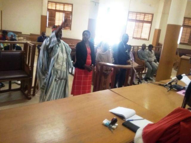 Les 4 nouveaux membres du collège des commissaires de la CIL. De gauche à droite M. Tapsoba Tibo Jean Paul, Mme Sanogo Haoua, Mme Kindo/Zoromé Fatimata, M. Bationo Bienvenue Ambroise.