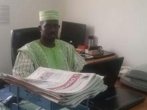 Maxime Sié DA à communiquer sur les enjeux de la protection des données personnelles et la sécurité des systèmes d'information au Burkina Faso