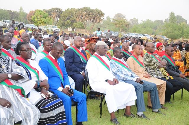 Les députés venus présenter leurs vœux à docteur Salifou Diallo