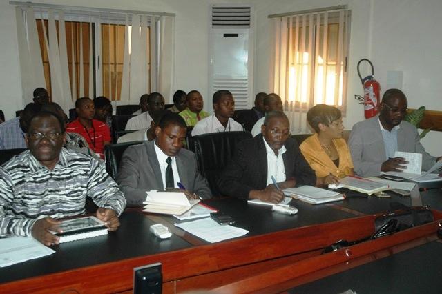 Une vue des participants de la 1re réunion ordinaire CT-CNSA
