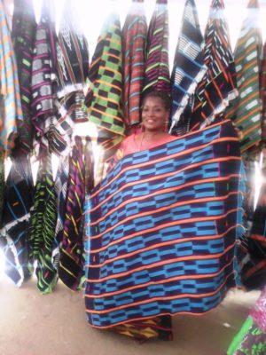 Mme Bende Antoinette, accessoiriste Ivoirienne