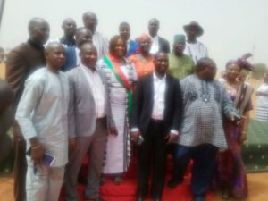 Les 15 conseillers qui servent désormais l'arrondissement 12 de Ouagadougou