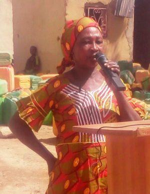 Nikiema Julienne représentante des femmes de zeguedessé