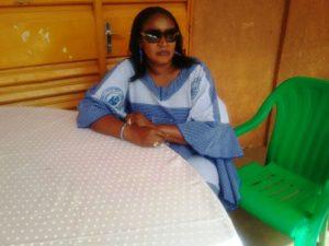 La présidente de l'Association des femmes en service dans les organes de l'UEMOA (AFESU), Mme Sylvianne Traoré