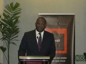 Monsieur Ben Cheick Haidara directeur général d'orange au Burkina Faso