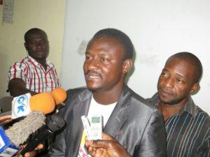 Le président de l'association des jeunes leaders africains monsieur Assad Ouédraogo