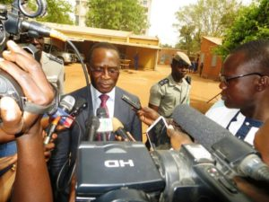 Le directeur pays du PNUD au Burkina, Corneille Agossou