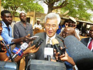 Masato Futaishi, ambassadeur du Japon au Burkina