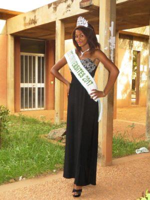 Miss université 2017, Aida Sidibé, étudiante en 2eme année en faculté de médecine
