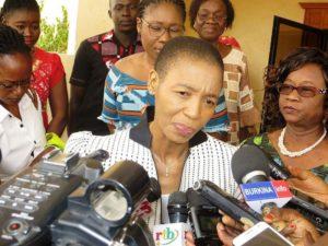 Mme la Coordonnatrice, du système des Nations Unies, représentante, résidente du PNUD au Burkina Faso