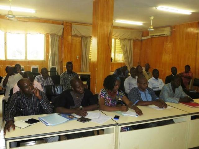 Les participants a ce forum de la 2e édition du forum régional des jeunes sur le patrimoine mondial