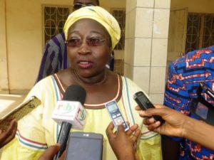 Madame la Présidente de la CIL Marguerite Ouédraogo/Bonané