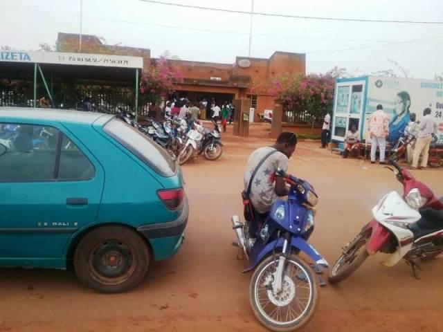 La SONABEL au quartier Wayalghin de Ouagadougou