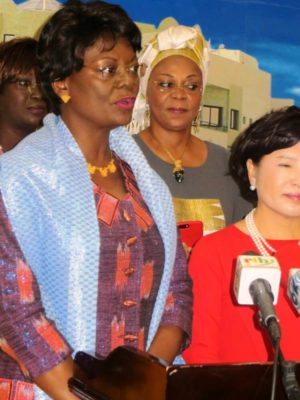 la première Dame Sika Kaboré nommée Ambassadrice de bonnes volontés contre les pratiques traditionnelles par le Comité inter-africain (CIAF)
