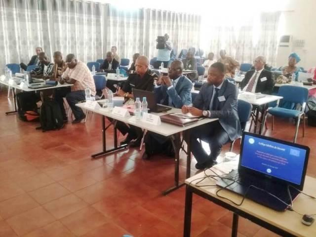 Les participants venus des Etats du G5 Sahel