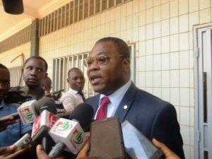 Le représentant de l'OIF M. Emmanuel Adjovi