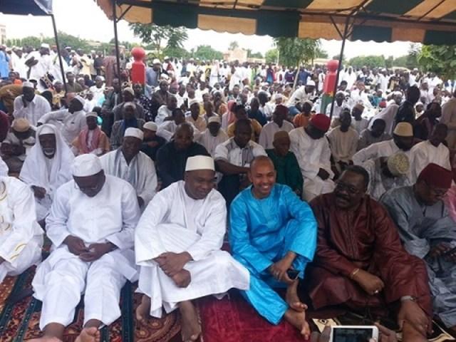 Tahirou Barry, Ministre de la culture à la place de la nation pour la prière du Ramadan