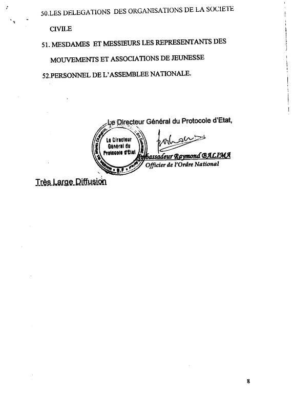 CEREMONIE OFFICIELLE.CONVOCATION CORPS CONSTITUES. OBSEQUES SALIFOU DIALLO-8