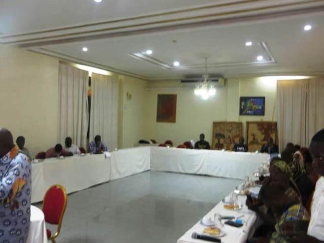 Les participants a cette rencontre de SAGORE 2017