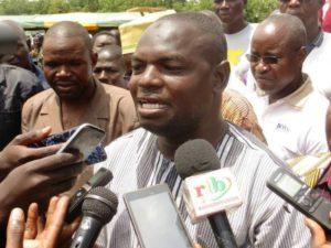 Confé Arouna, secrétaire section marché de bétails de Tanghin de la ville de Ouagadougou