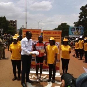 Deuxième prix remporté par Noufou Minoungou