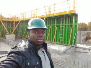 M. Kaboré Flavien, ingénieur spécialiste en génie civile.