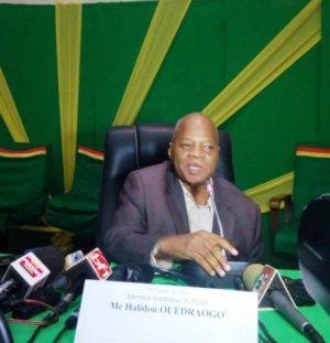 Halidou Ouédraogo, membres fondateur du FILEP