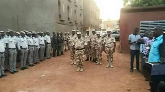 Les forces de l'ordre mobilisés pour sécuriser les usagers en ces périodes de fête de de fin d'année