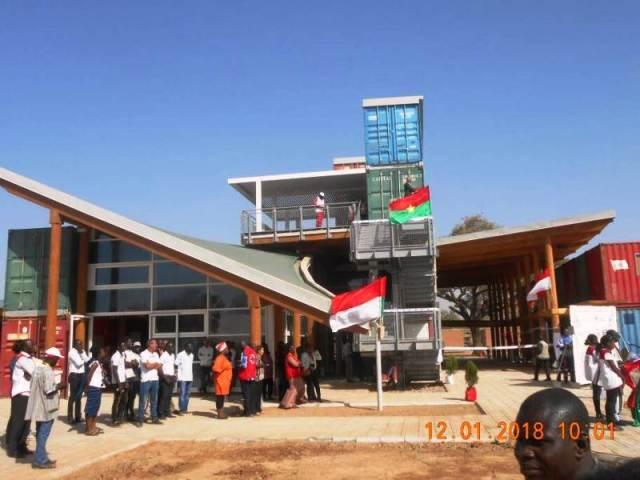 Le pavillon de Loumbila