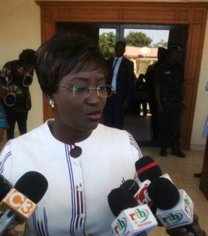 Laure Zongo/Hien, la ministre en charge de la femme et de la famille