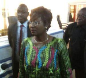 Laure Zongo/Hien, Ministre en charge de la femme