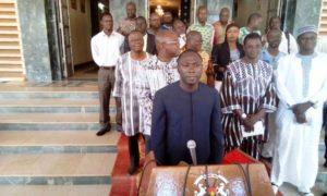 Le Pr Déni Ouédraogo ministre de la fonction publique