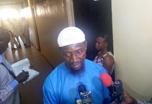 Moumouni Ilboudo Zoundi Président du comité de suivi du hadj