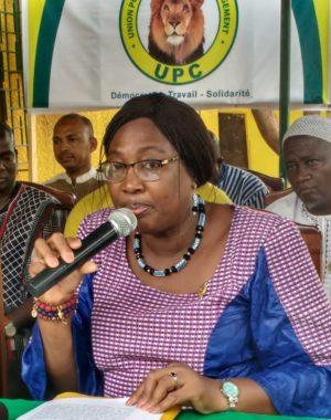 Henriette Zoumbaré, député du groupe parlementaire de l'UPC