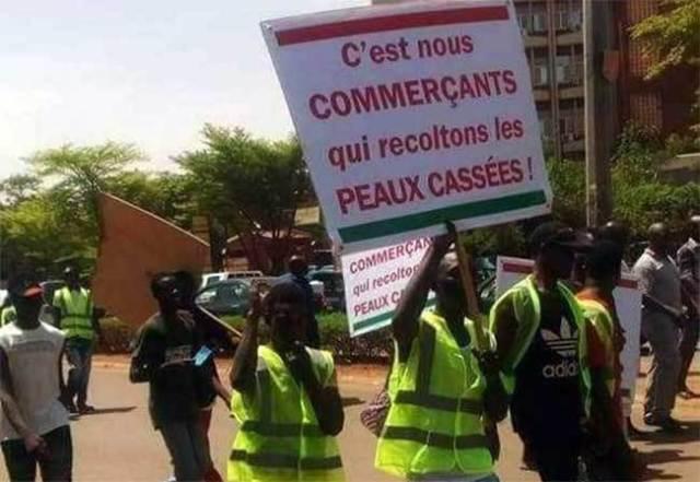 La Coalition des structures syndicales et associatives des commerçants du Burkina Faso (COSSAC-BF)