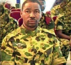 Le Sergent-chef Roger Koussoubé dit le «Touareg»