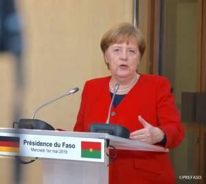 Photo 2: Angela Merkel, la chancelière d'Allemagne
