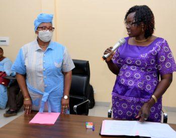 Initiative Présidentielle de l'alimentation scolaire: La secrétaire permanente installée