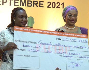 Coopération Ivoiro-Burkinabè : 42 projets de femmes financés.